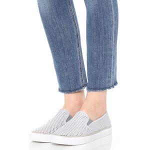 Sperry Seaside Perforated Sneaker 7 Grey